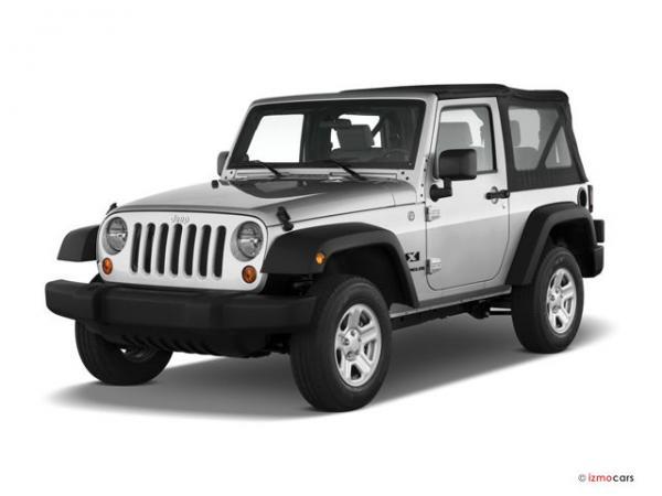 Jeep Wrangler open